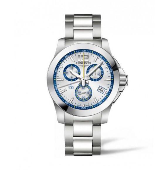 Longines Conquest chronograph  41 MM St Moritz edicion especial