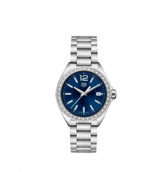 TAG HEUER FORMULA 1 lady diamonds acero azul 35 mm