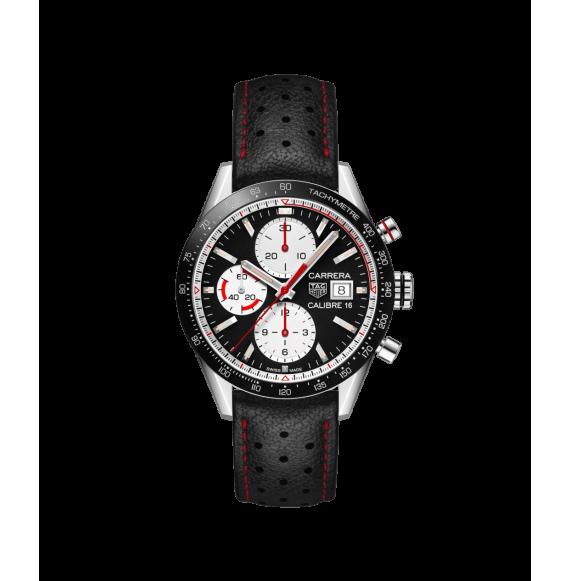 Reloj acero Tag Heuer Carrera CV201AP.FC6429  automático con cronógrafo para hombre