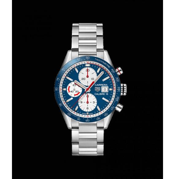 Reloj acero Tag Heuer Carrera CV201AR.BA0715 automático con cronógrafo para hombre
