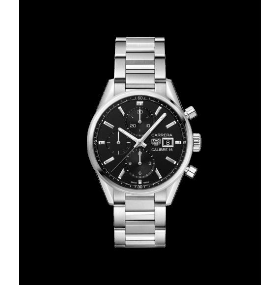 Reloj acero Tag Heuer Carrera CBK2110.BA0715 automático con cronógrafo para hombre