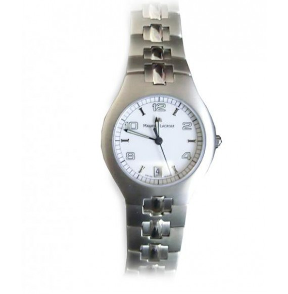 MAURICE LACROIX MIROS LADY DATE WHITE DIAL