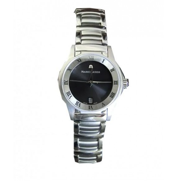 MAURICE LACROIX MIROS LADY DATE BLACK DIAL