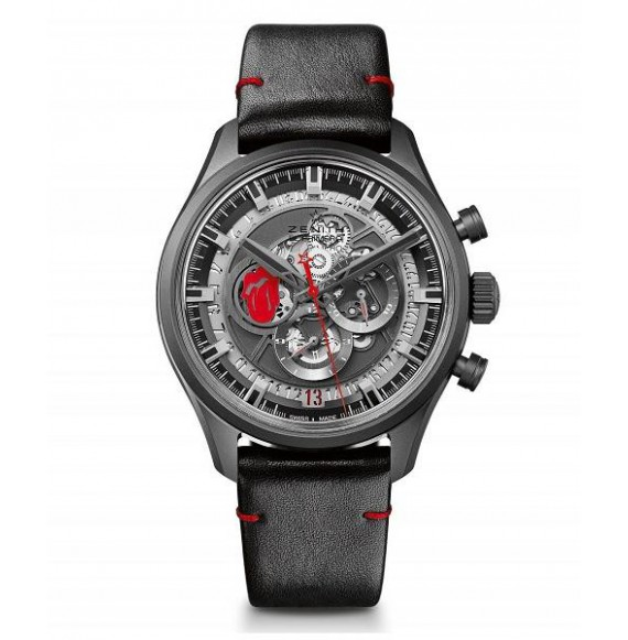 Zenith Chronomaster EL Primero  Skeleton Tribute to the Rolling Stones 45 mm.