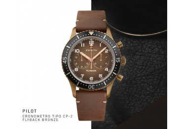 NOVEDAD BASELWORLD 2018, ZENITH PILOT CRONOMETRO TIPO CP-2 FLYBACK