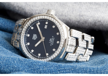 NOVEDAD BASELWORLD 2018 TAG HEUER LINK DE 41 MM CON DIAMANTES