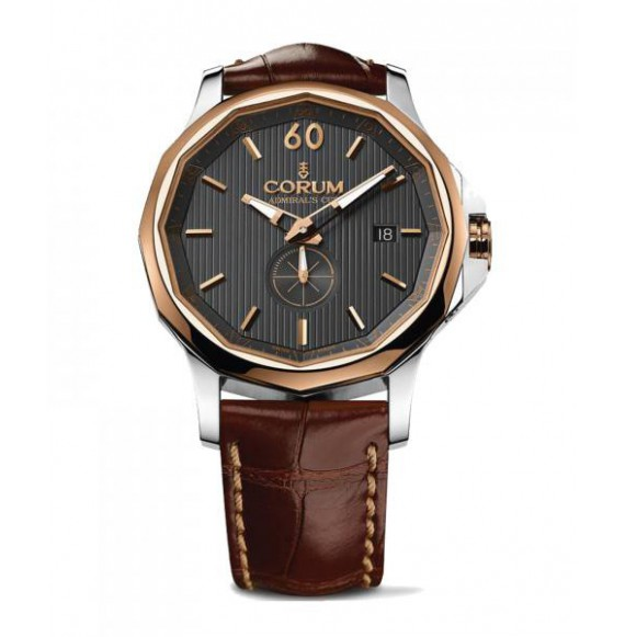 CORUM ADMIRALS CUP STEEL AND GOLD 42 MM