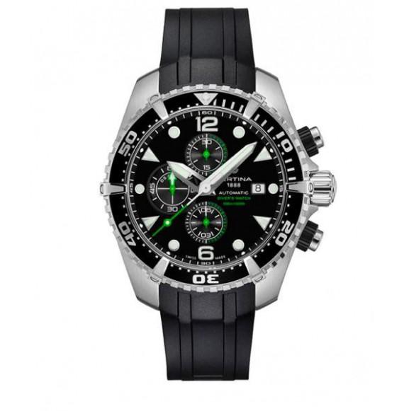 certina  ds action  diver  chronograph automatic