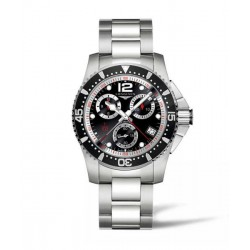 Longines Hydroconquest Chronograph 41MM negro