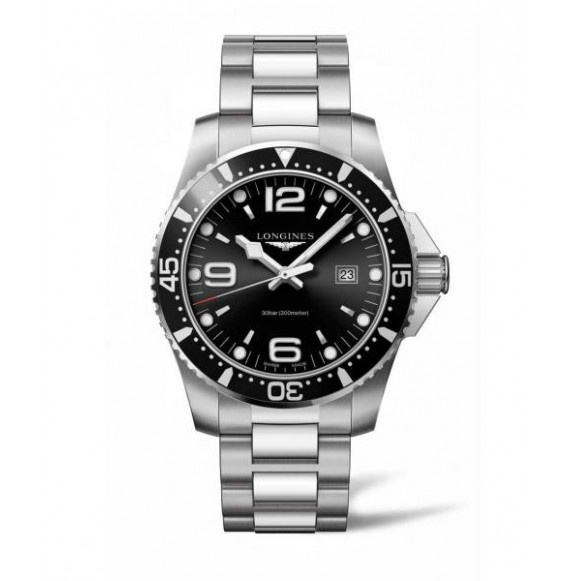 Longines Hydroconquest  44MM negro