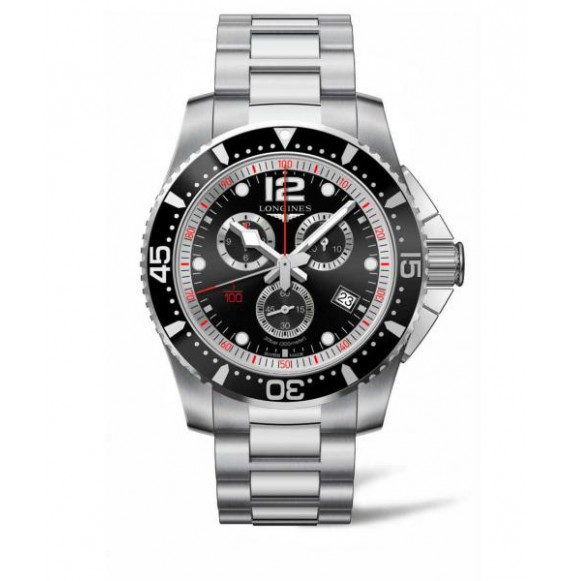 Longines Hydroconquest Chronograph 47.50 MM negro