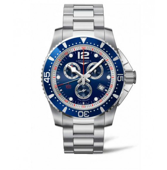 Longines Hydroconquest Chronograph 47.50 MM azul
