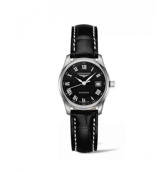 longines master collection  29 mm negro