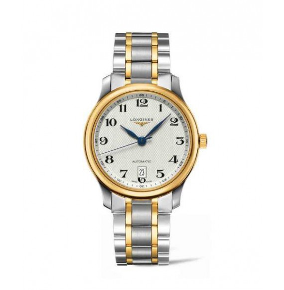 longines master collection 38.50 mm PVD esfera plateada