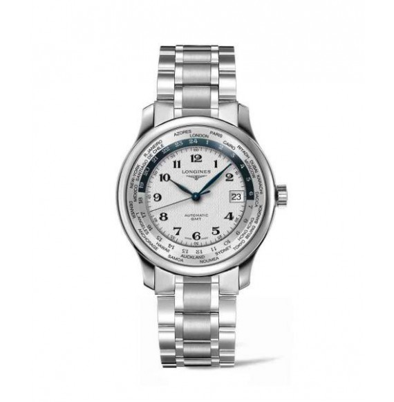 longines master collection World time gmt 38.50 mm