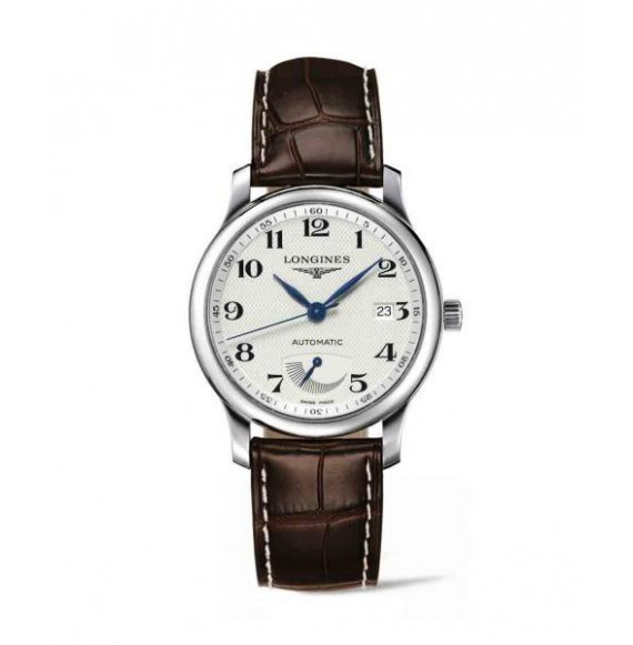 longines master collection 38.50 mm esfera plateada
