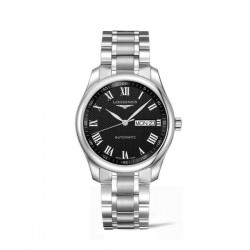 Longines master collection 38.50 mm. day date negro