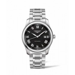 Longines master collection 40 mm negra
