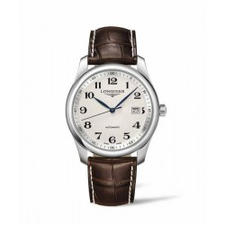 Longines master collection 40 mm plateada