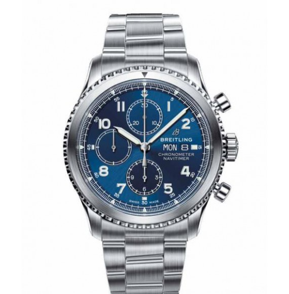 Breitling Navitimer 8 chronograph 43 azul