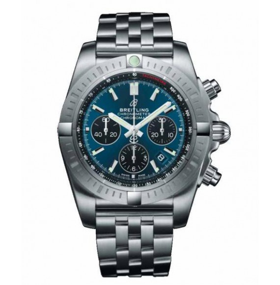 Breitling Chronomat B01 Chronograph 44 azul acero
