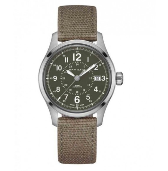 hsmilton khaki  field 40 mm verde canvas