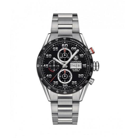 Reloj de Acero Tag Heuer Carrera CV2A1R.BA0799 Automático para hombre.