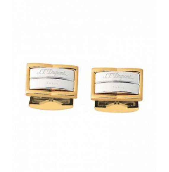 GEMELOS S.T. DUPONT GATSBY STEEL & GOLD