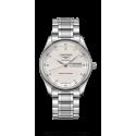 Reloj Longines Master Collection automático de acero con diamantes para hombre