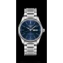 Reloj Longines Master Collection automático de acero y esfera azul para hombre