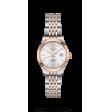 Reloj Longines L2.321.5.72.7 Master Collection de acero inoxidable y lámina de oro rosa, esfera plateada para hombre