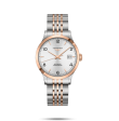 Reloj automático Longines  Record Collection L2.820.5.76.7 bicolor unisex
