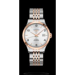 Reloj Longines Record Collection automático bicolor unisex