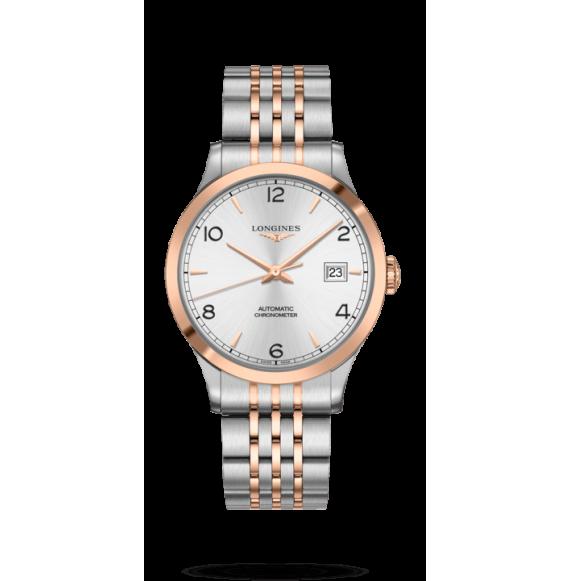 Reloj automático Longines  Record Collection L2.821.5.76.7 bicolor para hombre