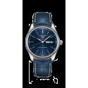 Reloj Longines Master Collection automático de acero y piel azul para hombre