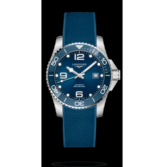 Reloj Longines HydroConquest L3.781.4.96.9 de acero inoxisable y cerámica para hombre