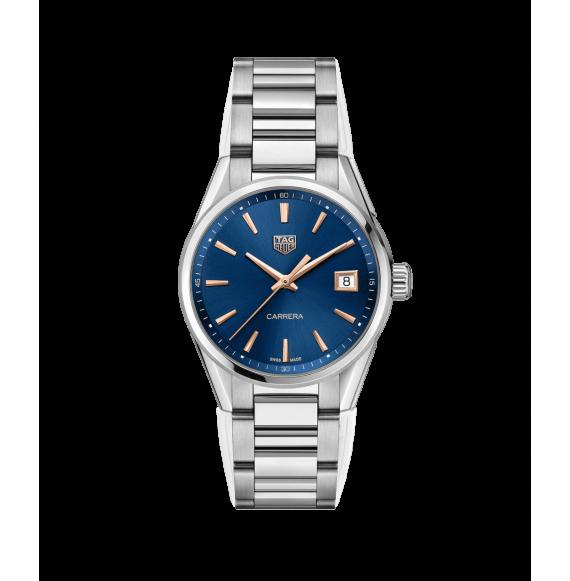 Reloj cuarzo Tag Heuer Carrera WBK1312.BA0652 de acero satinado y pulido para señora