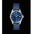 Reloj cuarzo Tag Heuer Carrera WBK1312.FC8259 de piel azul para señora