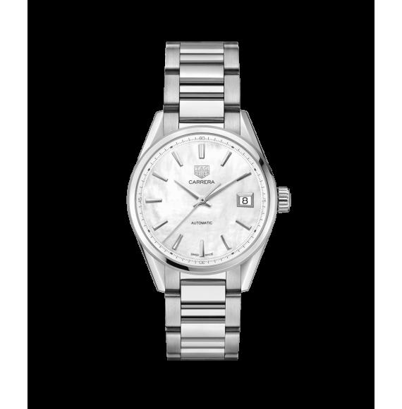 Reloj Tag Heuer Carrera WBK2311.BA0652 automático de acero satinado para mujer