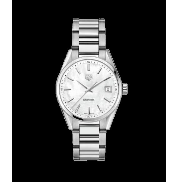 Reloj Tag Heuer Carrera WBK1311.BA0652 cuarzo con brazalete de acero satinado para mujer