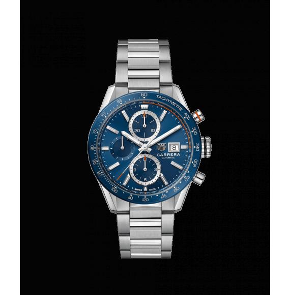 Reloj  Tag Heuer Carrera CBM2112.BA0651 automático de acero satinado para hombre
