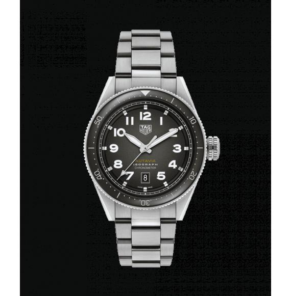 Reloj Tag Heuer Autavia Isograph WBE5110.EB0173 automático de acero satinado para hombre