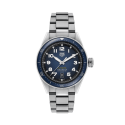 Reloj Tag Heuer Autavia Isograph automático de acero y esfera azul para hombre