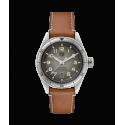 Reloj Tag Heuer Autavia Isograph automático con correa marrón para hombre