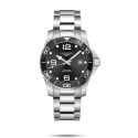 Reloj Longines HydroConquest automático de acero y esfera negra para hombre
