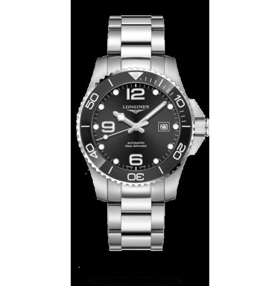 Reloj Longines HydroConquest cerámico L3.782.4.56.6 automático de acero inoxidable para hombre
