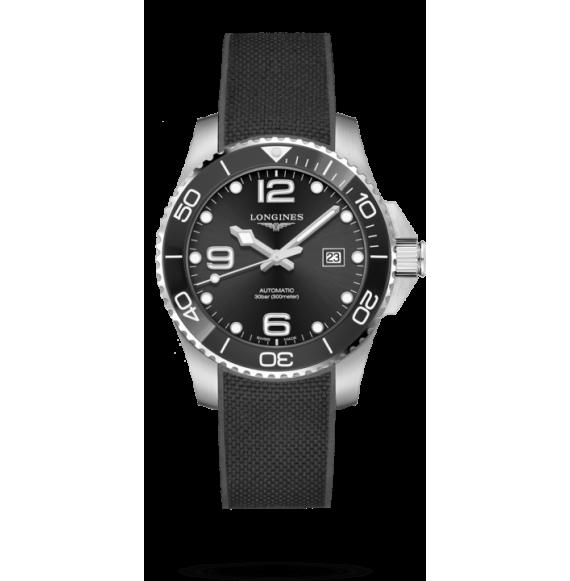 Reloj Longines HydroConquest bisel cerámico L3.782.4.56.9 automático de acero inoxidable para hombre