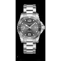 Reloj Longines HydroConquest automático de acero y esfera gris para hombre