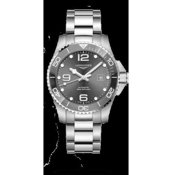 Reloj Longines HydroConquest  cerámica L3.782.4.76.6 automático  de acero inoxidable para hombre