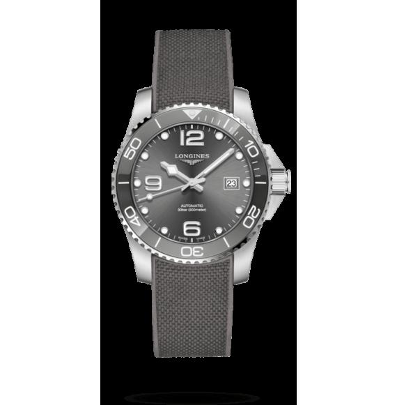 Reloj Longines HydroConquest L3.781.4.76.9 automático de acero y cerámica para hombre